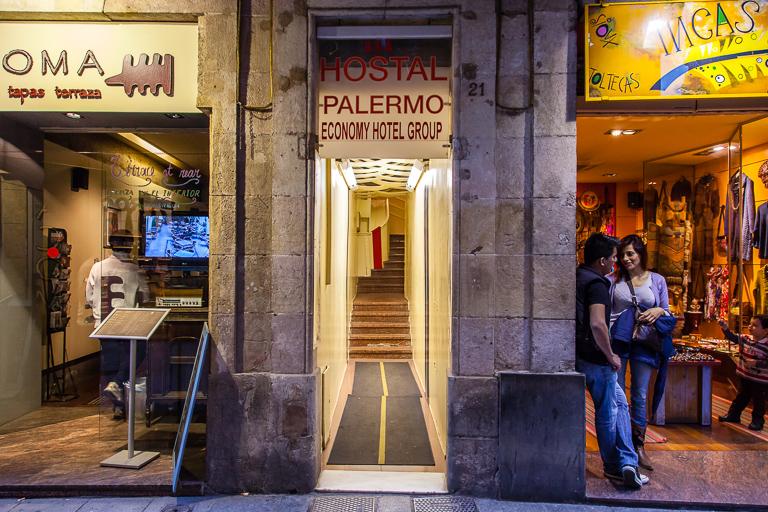 Hostal Palermo, Barcelona